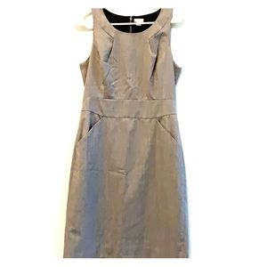 J. Crew size 6 dress Gray